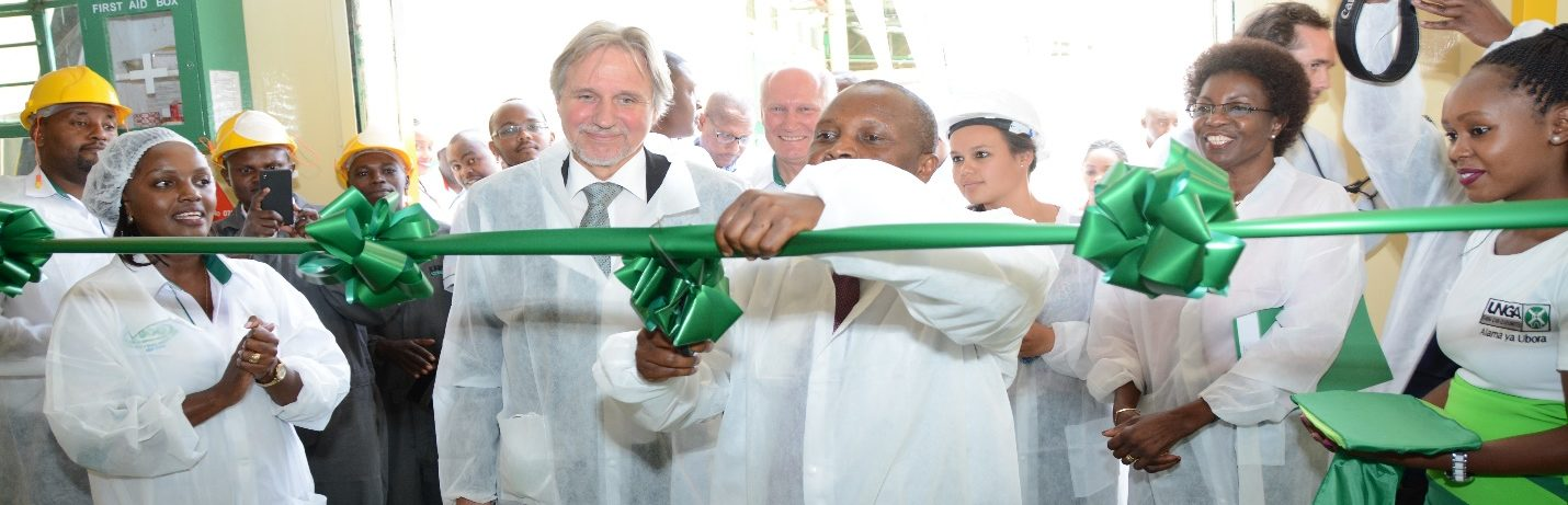 Unga Farm Care (EA) Limited opens a 5,000 MT per year Extruded Fish Feed Plant in Nairobi