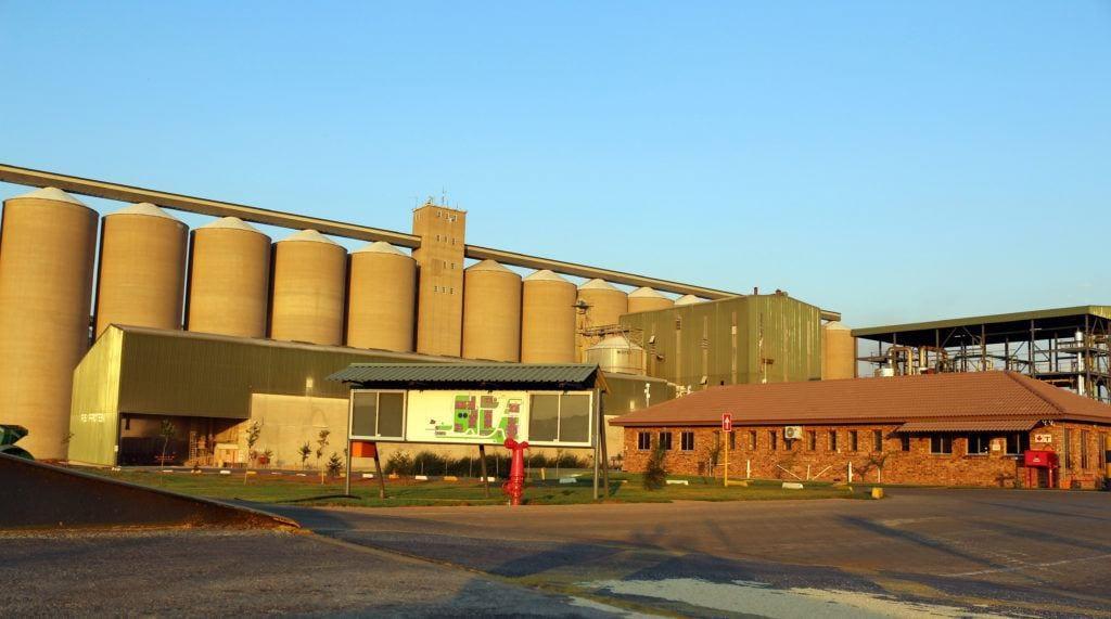 Acquired 30% of RussellStone Protein, a soy crush operation outside of Pretoria, South Africa.